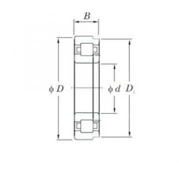 100 mm x 180 mm x 46 mm  KOYO NUP2220 cylindrical roller bearings
