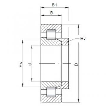 17 mm x 40 mm x 16 mm  ISO NH2203 cylindrical roller bearings